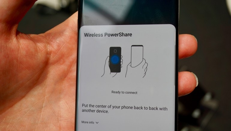 Samsung Galaxy S10 wireless powershare 2