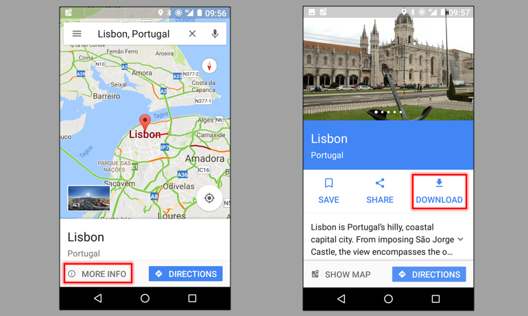 How to save Google Maps for offline use on Android and iPhone Save Map For Offline Use on print maps, facebook maps, service maps, online interactive maps, advertising maps,