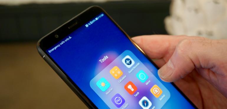 Huawei P smart toolbar hero size