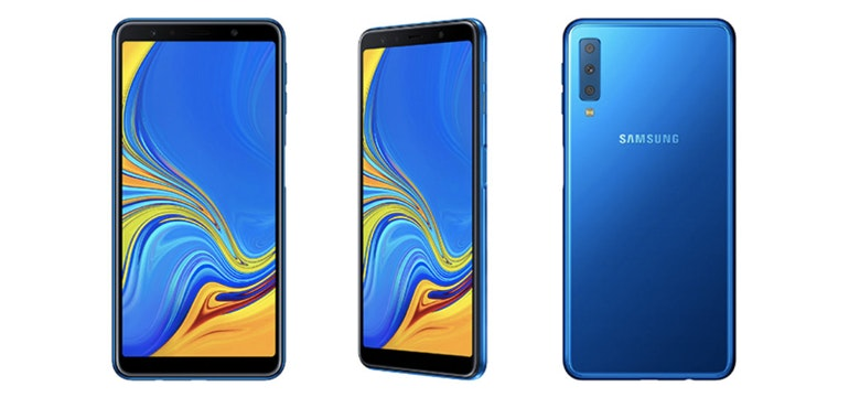 Samsung Galaxy A7 launches with triple lens camera
