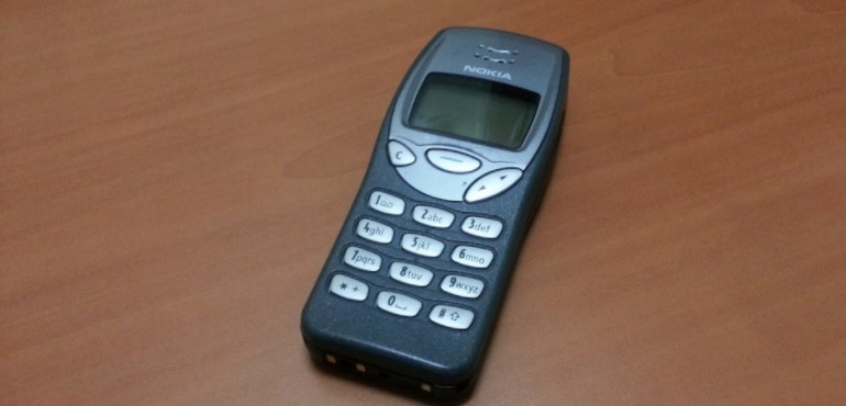 nokia 3210 old cheap phone