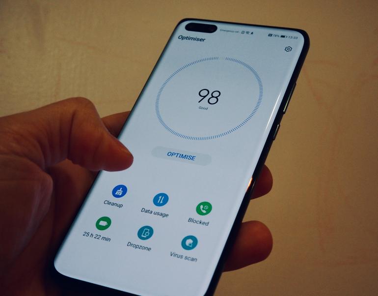 Huawei P40 Pro optimize