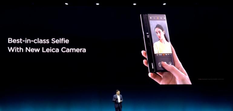 Huawei Mate X Leica selfie camera launch hero size