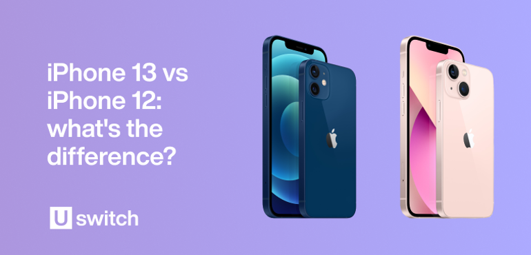 iphone 12 vs iphone 13 what's the difference