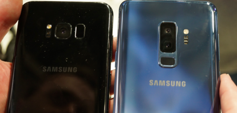 Samsung S8 and S9