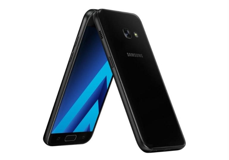 Samsung Galaxy A range angled