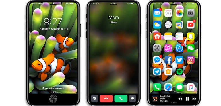 iPhone 8 images show Apple's plans to include function area