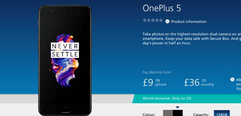 OnePlus 5 O2