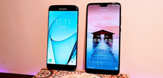 I swapped my S7 Edge for the new Huawei P20 Pro