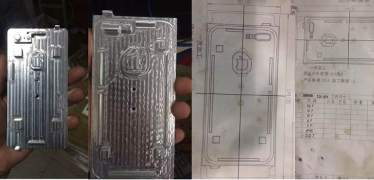 iPhone 7 and iPhone 7 Plus moulds confirm plans for dual camera