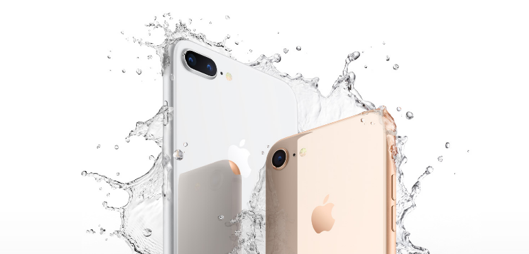 iphone 8 and 8 Plus waterproof hero image