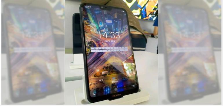 Nokia X display model