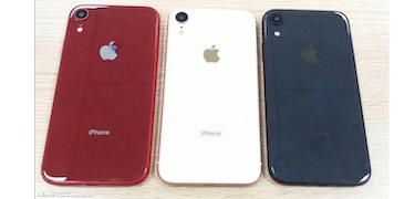 iPhone Xc pictured ahead of launch