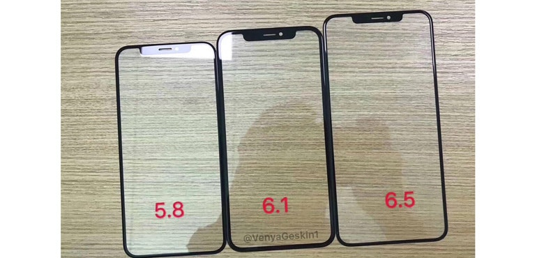 iPhone 2018 range: Leaked pics give clear look at new trio