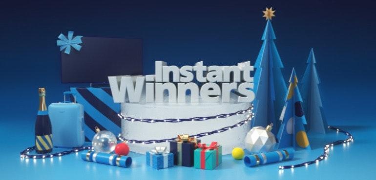 O2 Instant Winners Christmas Priority app hero size