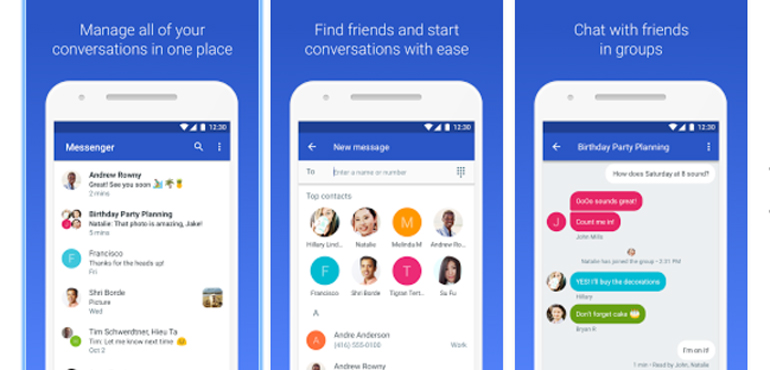 Android Messages: Google rebrands texting app