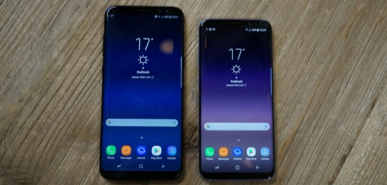 Samsung Galaxy S8 and S8 Plus hero image