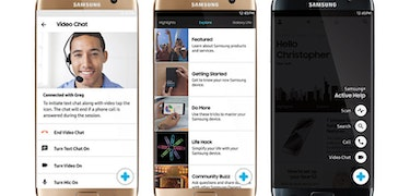 The Samsung Galaxy S7 can be controlled remotely