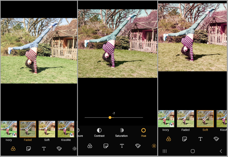 Galaxy S10 - tips - Editing 2