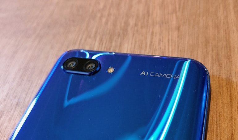 Honor 10 camera detail