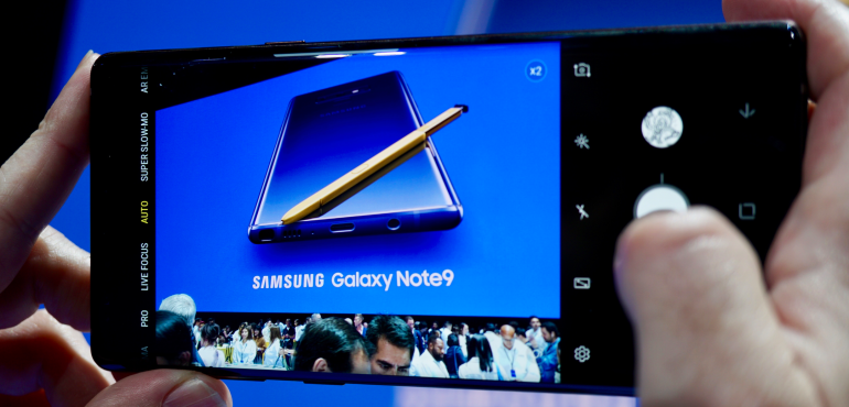 Samsung Galaxy Note 9 camera: Five things you need to know