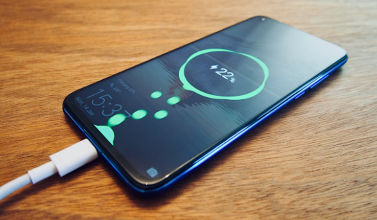 Honor View 20 charging