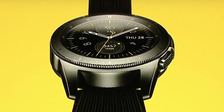 Samsung Galaxy Watch - Close up 2