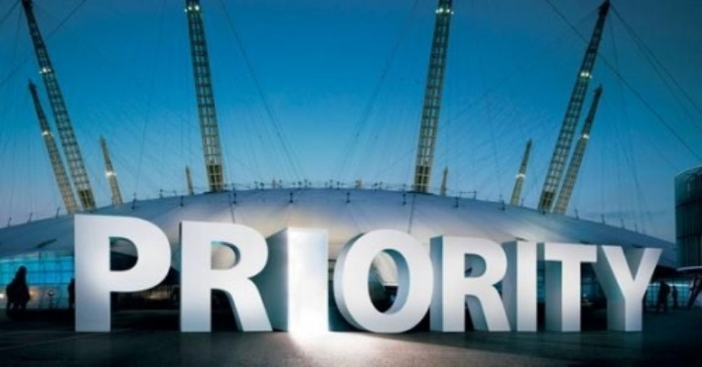 O2 Arena priority tickets