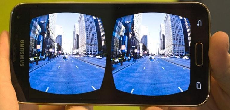VR environment samsung