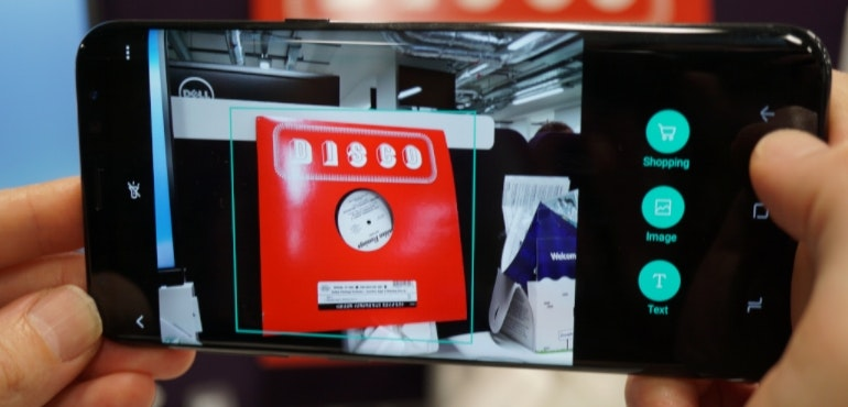 Bixby Vision on Galaxy S8