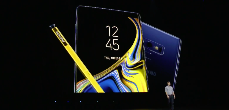 The Samsung Galaxy Note 9 is now on sale