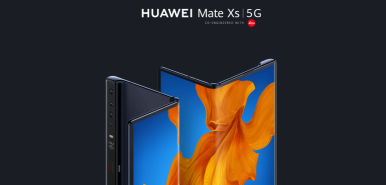 Huawei Mate XS fold and unfold hero image
