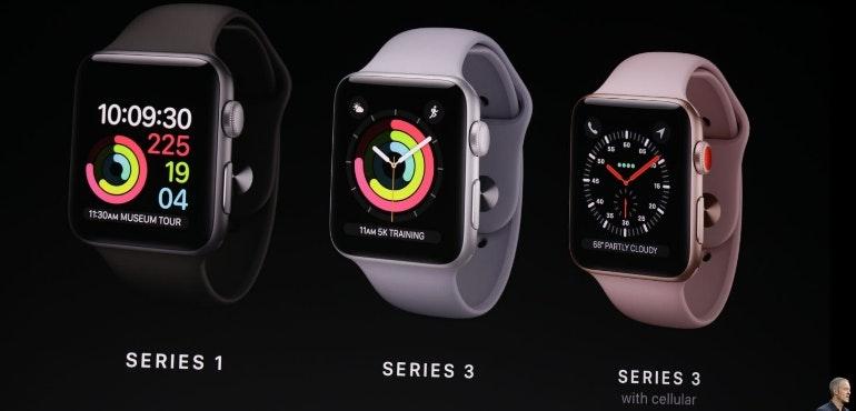 Apple Watch series 3 hero