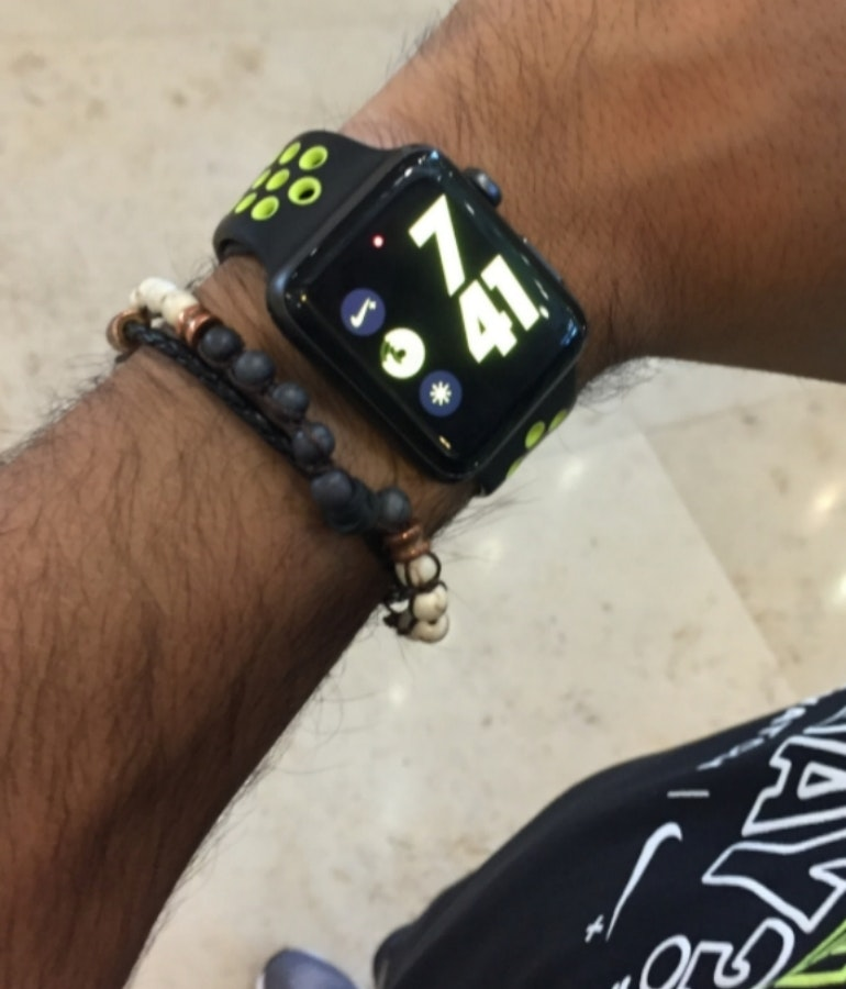 Nike Watch on hand Ru