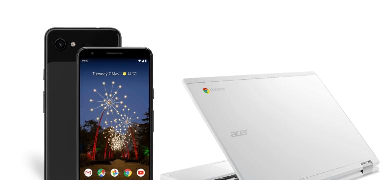 Google Pixel 3a free Chromebook