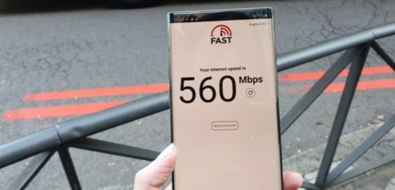 Vodafone 5G roaming review