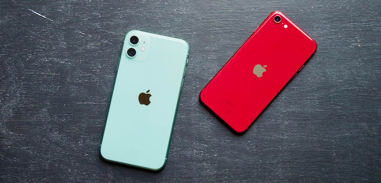iPhone SE vs iPhone 11 - Hero