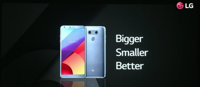 LG G6 smaller bigger better