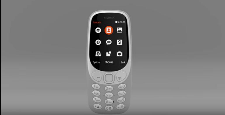 Nokia 3310 design