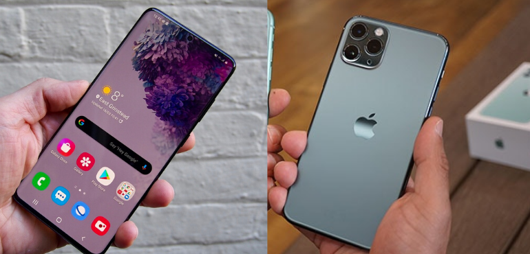 Samsung Galaxy S20+ vs iPhone 11 Pro Max
