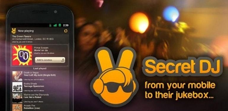 Secret DJ app