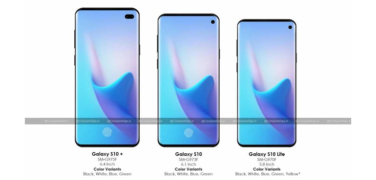 Samsung Galaxy S10: Screen size and colours revealed in latest leak