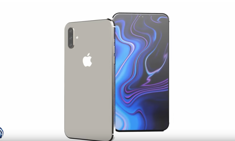 iPhone 11 render concept creator no notch hole punch