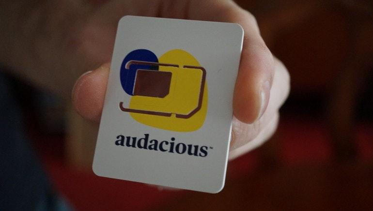 Audacious SIM card