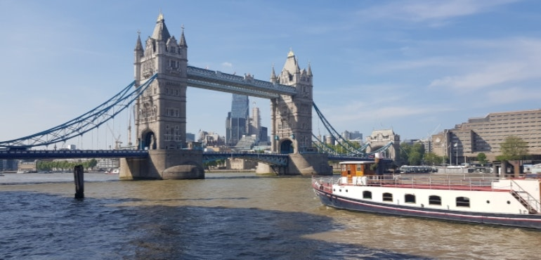 Samsung Galaxy S8 camera sample Tower Bridge