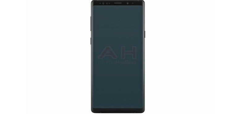 Samsung Galaxy Note 9: Official render revealed