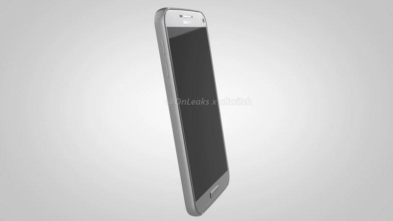 Samsung Galaxy S7 side upright