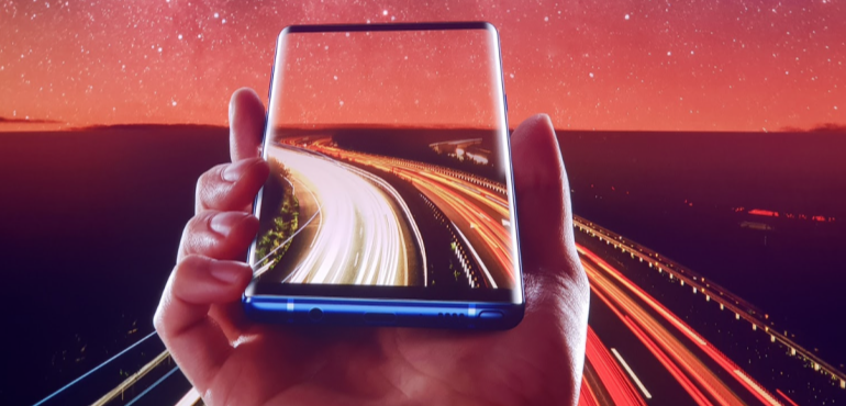 The Samsung Galaxy Note 9 is getting its first update