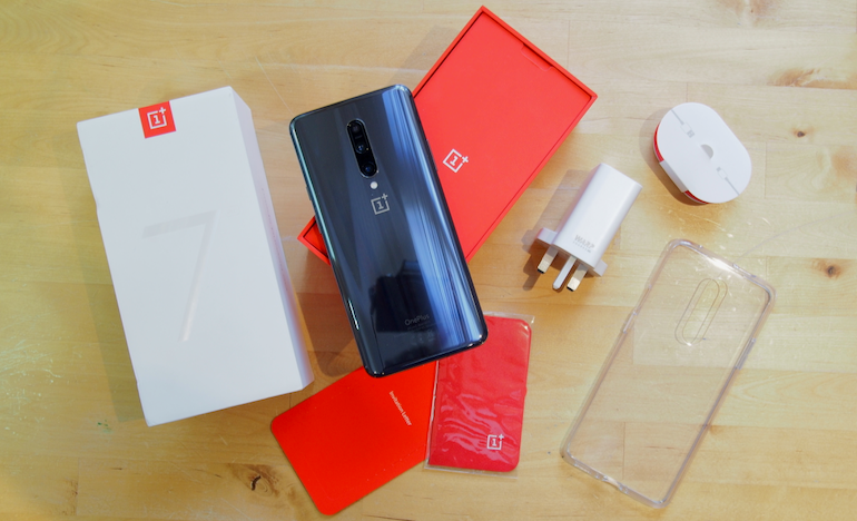 OnePlus 7 Pro out of the box