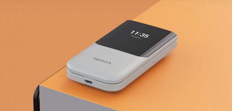 Nokia 2720 flips into view